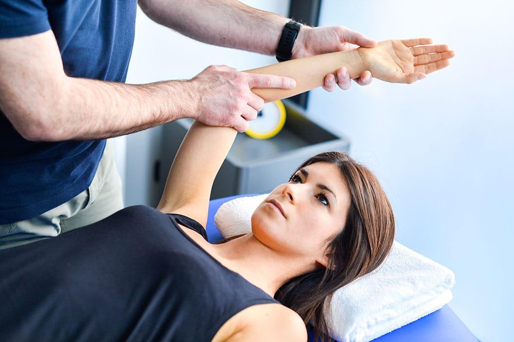 servizi fisioterapia spalla | Centro Fisioterapico specialistico Target Saronno